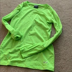 Under armor cold gear workout top